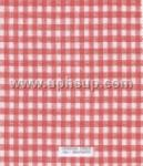 "FBT500-1 Fleece-Back Vinyl Ging Ck Red Table Cloth 54"" (PER YARD)"