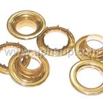 "GRO4SR Grommet (Brass) Spur Washer #5  5/8"" 144 Pcs. (PER BOX)"