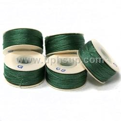 BON779R Bobbin #69-G Dk Green Nylon, 1/2 gross (72 PC. BOX)
