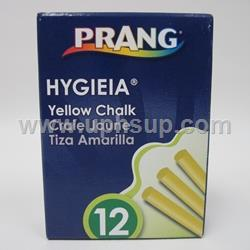 CHK12Y Chalk Non Toxic #31345 Yellow 12 pcs. (PER BOX)