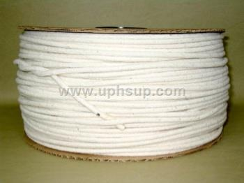 CWC0610R Cotton Welt Cord 6/32 inch, 10 pound roll (PER ROLL)