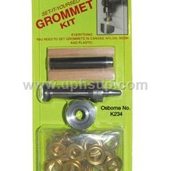 GRK234-00 Grommet (Brass) Kit W/Die #00 (EACH)