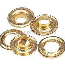"GRO0R Grommet (Brass) Plain Washer #0 1/4""  144 Pcs. (PER BOX)"