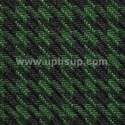 "HTF05 Fabric Houndstooth #05-7298925 Green/Black 57"" Wide (PER YARD)"