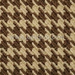 "HTF08 Fabric Houndstooth #08-7298927 London Brown 57"" Wide (PER YARD)"