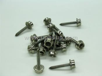 "MSNP5L Marine Screw Stud #10393 25 Nickle Plated Brass 1"" (EACH)"