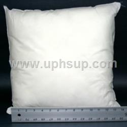 "PFM16 Fiber-fill Pillow Insert 16"" x 16"" (EACH)"