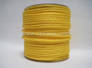 "POR38 Poly Rope Cord 3/8"" yellow (PER YARD)"